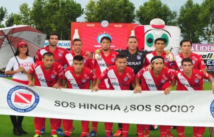 Argentinos Juniors. Foto: Twitter