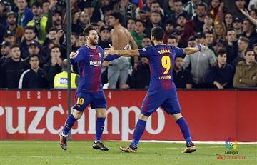 Barcelona goleó al Betis con doblete de Lionel Messi