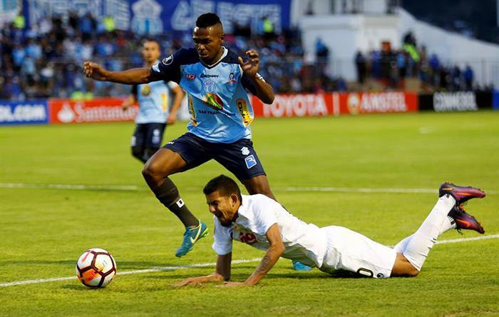 Empate en el Estadio Bella Vista de Ecuador. Foto: Twitter