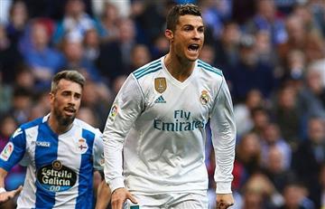 Real Madrid aplastó al Deportivo la Coruña de la mano de Cristiano Ronaldo