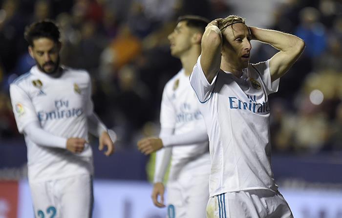 Empate con sabor a derrota para el Real Madrid. Foto: AFP