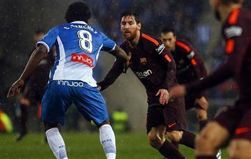 Barcelona rescata empate ante el Espanyol