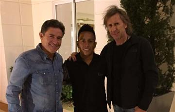 Selección Peruana: Ricardo Gareca se reunió con Christian Cueva en Brasil