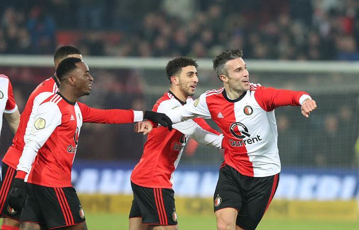 Feyenoord vs Groningen. Foto: Twitter