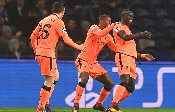 Liverpool destrozó al Porto en Portugal y asegura su lugar en cuartos de Champions League