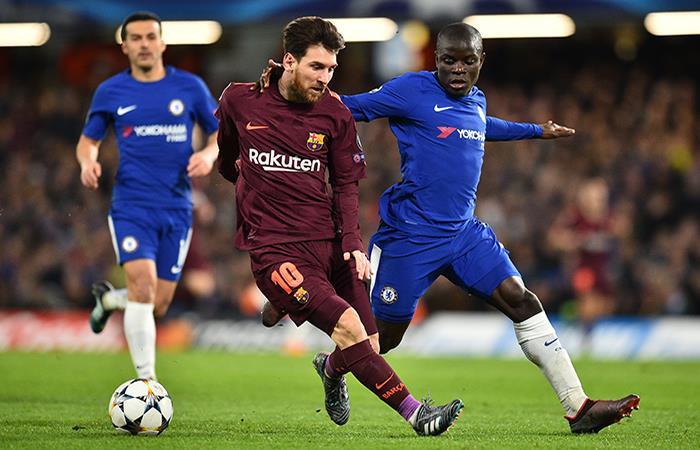 Barcelona quiere sellar su clasificación en casa (Foto: AFP)