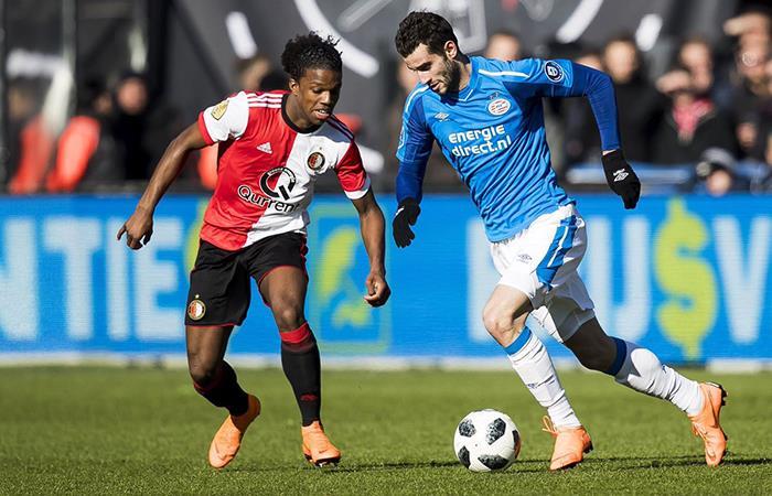 Feyenoord vs PSV. Foto: Twitter