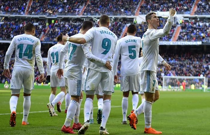 Real Madrid apabulló al Alavés (Foto: AFP)