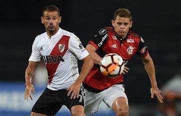 Flamengo sin Miguel Trauco igualó 2-2 ante River Plate por Copa Libertadores