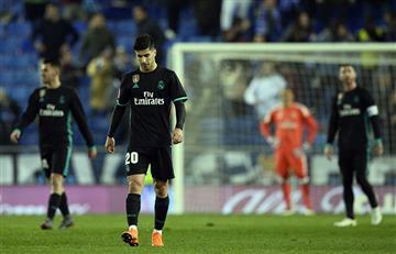 Real Madrid pierde en Barcelona ante Espanyol y se despide de LaLiga