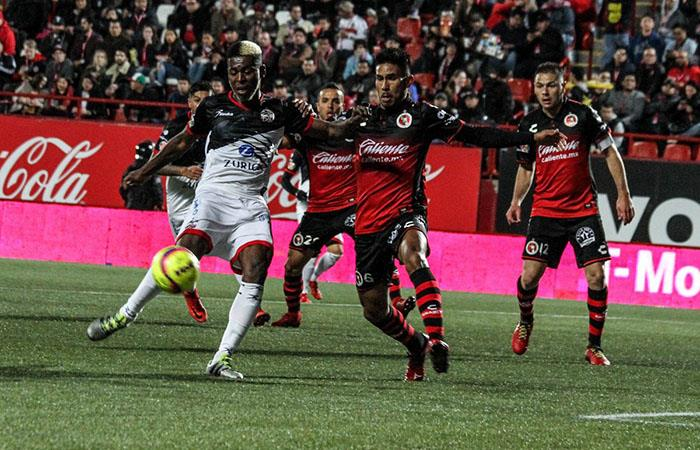Tijuana derrotó al Lobos BUAP de los peruanos por la Liga MX