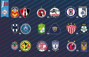 Liga MX: así quedó la tabla de posiciones tras culminar la fecha 10