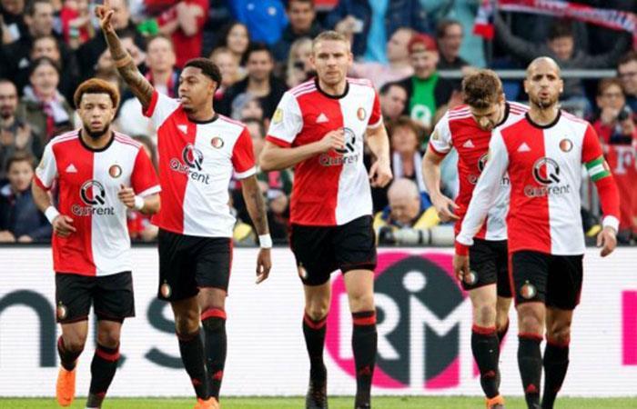 Feyenoord vs AZ Alkmaar. Foto: Twitter
