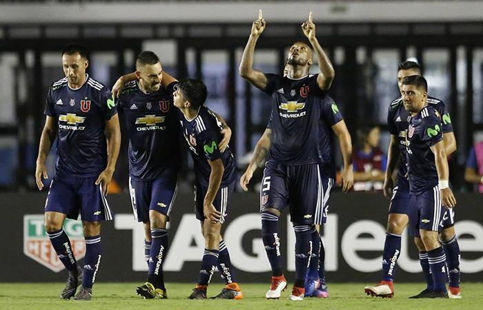 U de Chile se tumbó a Vasco da Gama en Brasil por Copa Libertadores