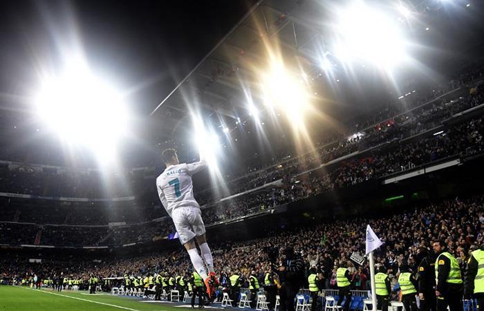 Cristiano Ronaldo lleva 18 goles en 8 partidos (Foto: AFP)