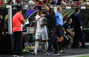 Ricardo Gareca señaló la primera baja para el partido contra Croacia