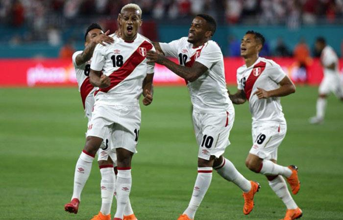 Selección Peruana. Foto: Twitter