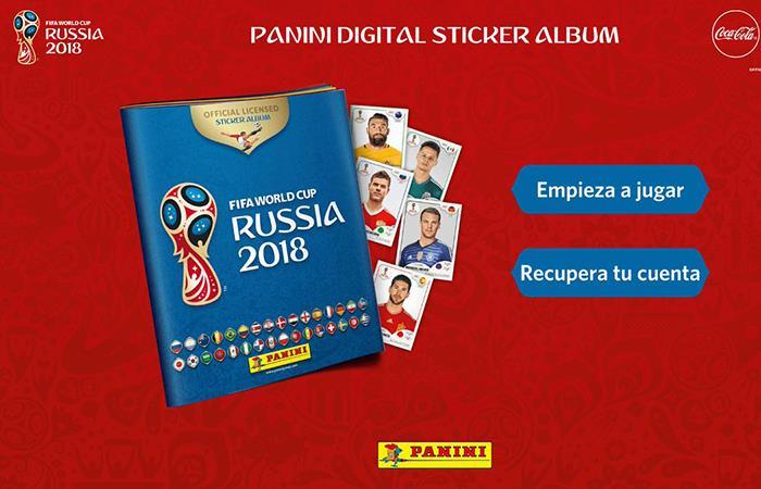 Álbum Panini - Versión Digital (Foto: Twitter)