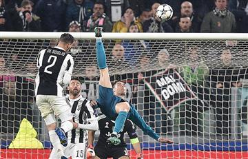 Juventus vs Real Madrid: golazo de chalaca de Cristiano Ronaldo