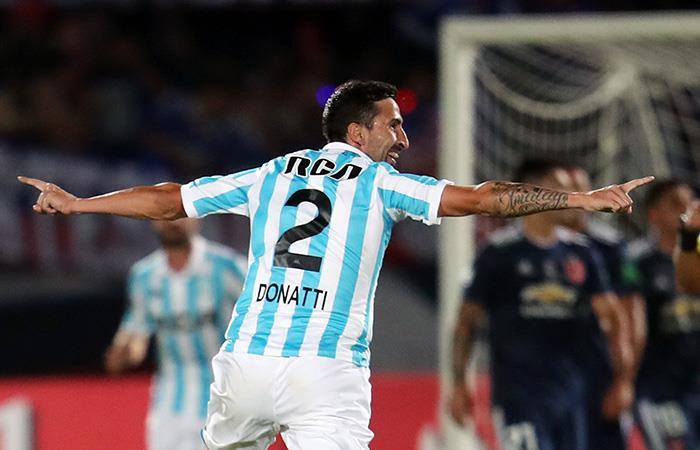 Racing se llevó valioso punto de la casa de la U de Chile en la Copa Libertadores
