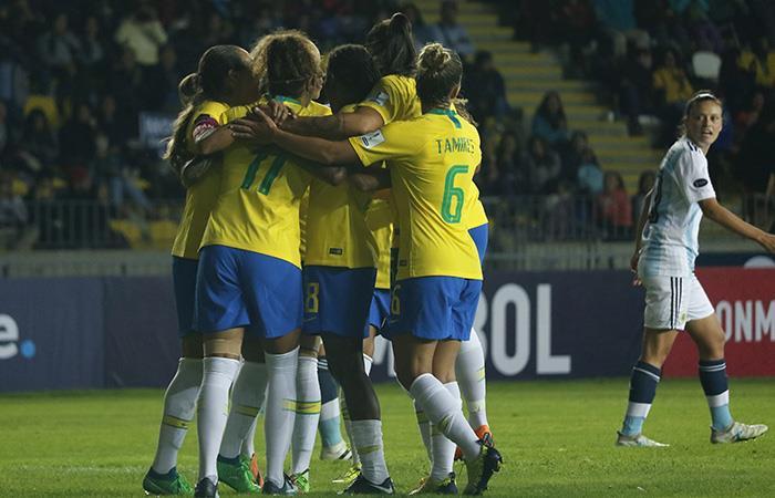 Brasil derrotó a Argentina en la Copa América Femenina