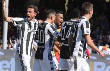 Juventus goleó a Benevento y llega motivado al duelo contra Madrid por Champions