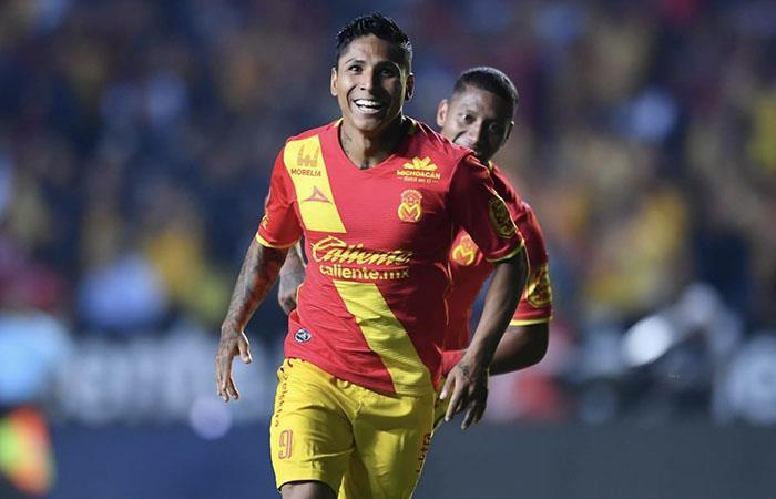 Raúl Ruidíaz integra el once ideal de la jornada 14 de la Liga MX