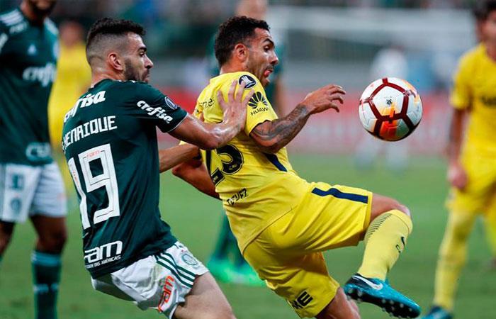 Palmeiras empató 1-1 frente a Boca Juniors por la Copa Libertadores