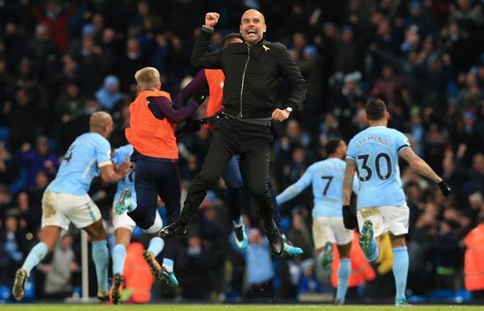 Pep Guardiola también conquista Inglaterra