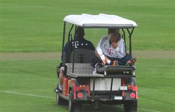 Arturo Vidal fue operado y es la primera baja para las semifinales de Champions