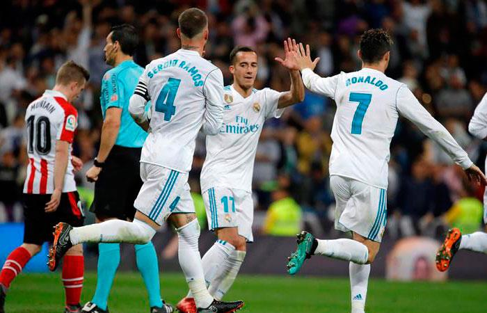 Cristiano Ronaldo salvó al Real Madrid de otra derrota en el Bernabéu