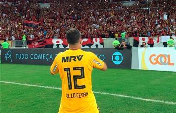 Flamengo con Miguel Trauco derrotó al América en el último partido de Julio César