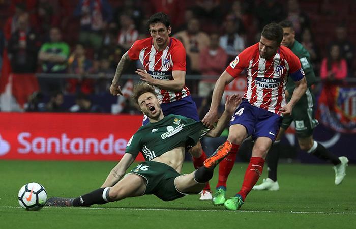 Atlético de Madrid no pasó del empate ante Real Betis (Foto: EFE)