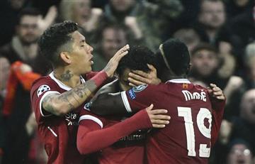 Liverpool goleó a la Roma por semifinales de Champions League