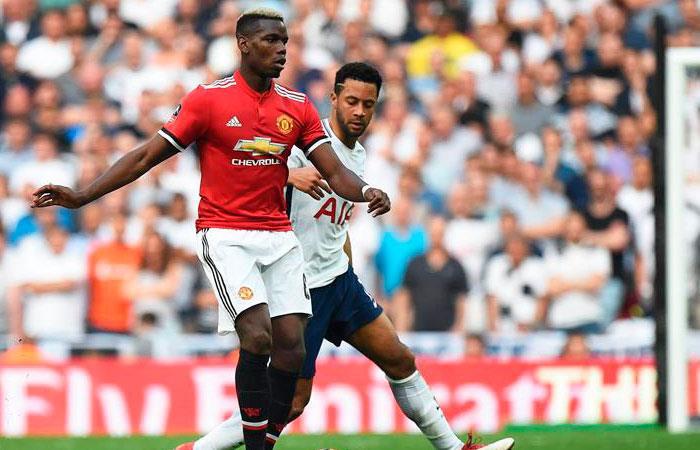Manchester United vs Tottenham Hotspur (Foto: EFE)