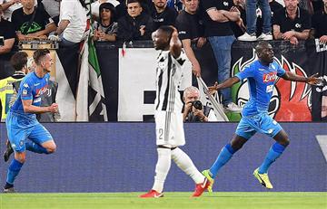 Napoli derrotó a la Juventus en el último minuto y acortó distancia en Serie A