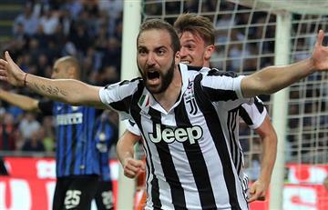 Juventus derrotó agónicamente al Inter y le sacó 4 puntos al Napoli en la Serie A