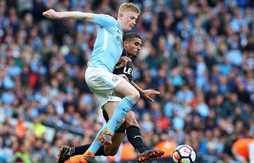 Manchester City goleó al West Ham y llegó a superar los 100 goles en Premier League