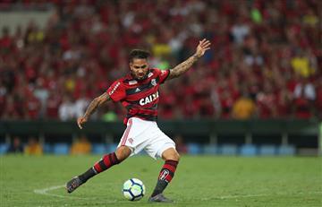 Con la vuelta de Guerrero, Flamengo venció a Inter y es líder del Brasileirao