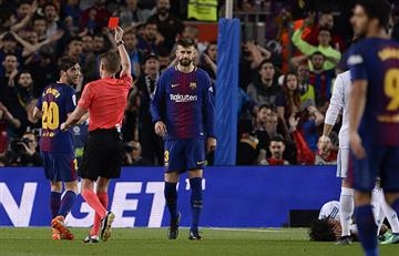 Barcelona vs Real Madrid: por esta acción expulsaron a Sergi Roberto del Clásico