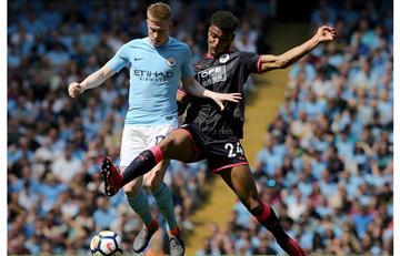 Manchester City no pudo ante Huddersfield y empató sin goles en la Premier League