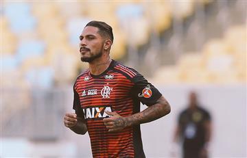 Paolo Guerrero: así fue su vuelta con Flamengo