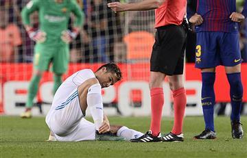 Cristiano Ronaldo: ¿cuándo volverá a las canchas tras sufrir lesión en el Camp Nou?