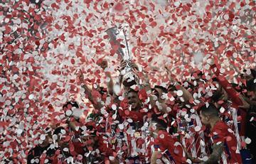 ¡Atlético de Madrid se corona campeón de la Europa League!