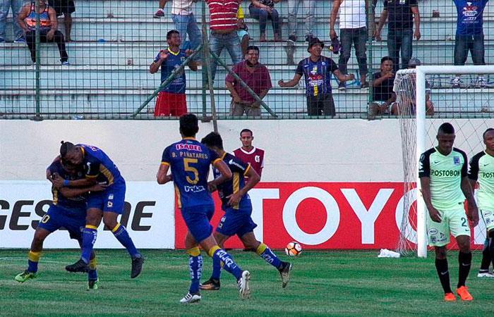 Delfín derrotó 1-0 a Atlético Nacional por la Copa Libertadores