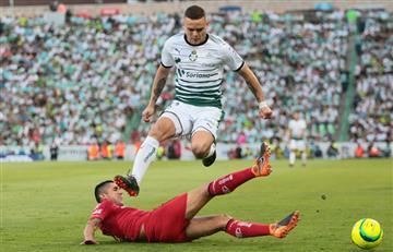 Liga MX: Santos remontó el marcador ante Toluca y sueña con el título