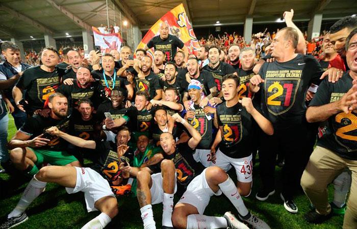 Galatasaray. Foto: EFE