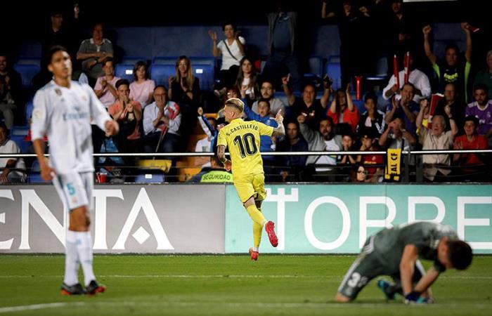 Real Madrid igualó 2-2 frente al Villareal. Foto: EFE