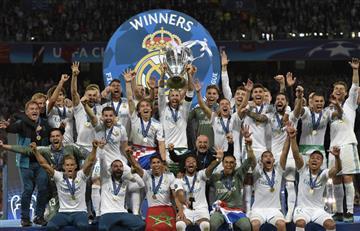 Real Madrid consigue su tercera Champions League consecutiva