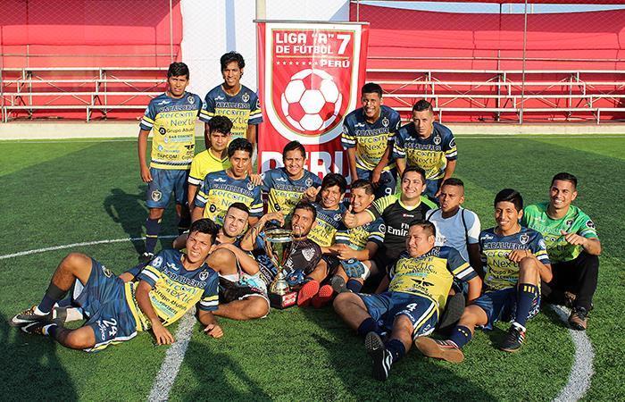 Caballeros FC consiguió una victoria en la última fecha de la Copa Gatorade Libertadores de Fútbol 7
